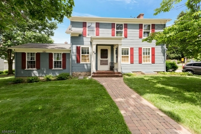 Morristown Town Single Family Home For Sale: 26 Mills St