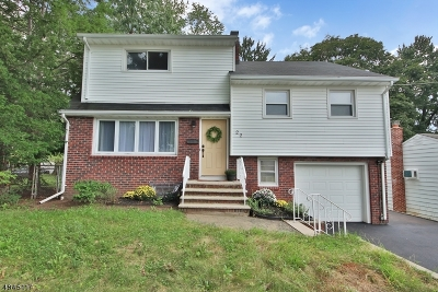 Nutley Twp. Single Family Home For Sale: 22 Jefferson St