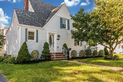 Linden City NJ Single Family Home Active Under Contract: $399,000