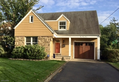 Cranford Twp. Single Family Home For Sale: 139 Severin Ct