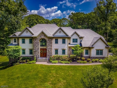 WATCHUNG Single Family Home For Sale: 157 Oakwood Road East