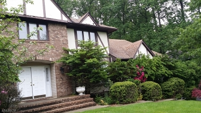 Parsippany-Troy Hills Twp. Single Family Home For Sale: 82 S Powdermill Rd