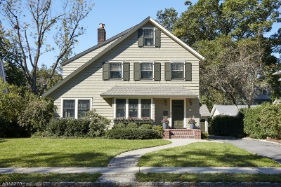 Maplewood Twp. Single Family Home For Sale: 59 Kendal Ave