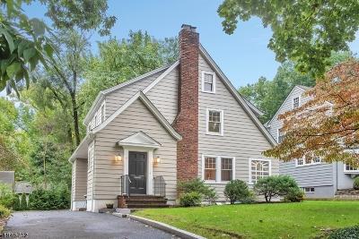 Montclair Twp. Single Family Home For Sale: 94 Haddon Pl