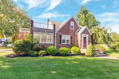Cranford Twp. Single Family Home For Sale: 413 Lexington Ave