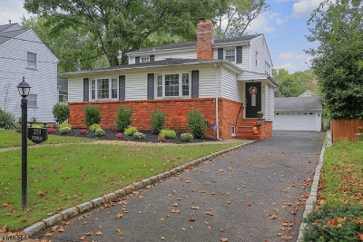 Cranford Twp. Single Family Home For Sale: 209 Thomas St