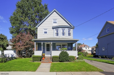 Garwood Boro Single Family Home For Sale: 350 Spruce Ave