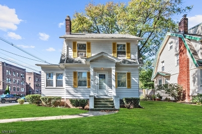 Nutley Twp. Single Family Home For Sale: 1 Whitford Ave
