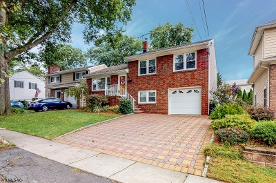Nutley Twp. Single Family Home For Sale: 150 Columbia Ave