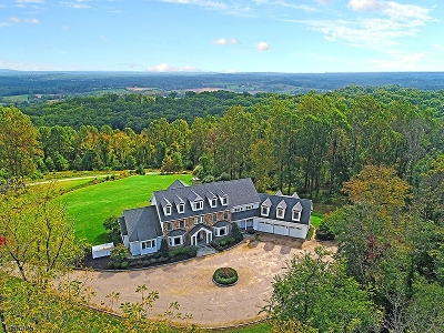 Tewksbury Twp. Single Family Home For Sale: 124 Old Turnpike Rd