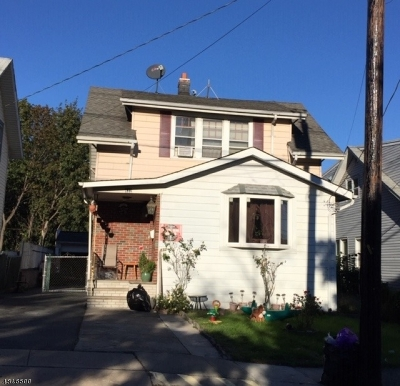 Paterson City Single Family Home For Sale: 432-434 Preakness Ave