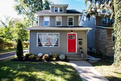 Maplewood Twp. Single Family Home For Sale: 10 Parker Ave