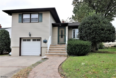 Nutley Twp. Single Family Home For Sale: 6 Van Riper Pl