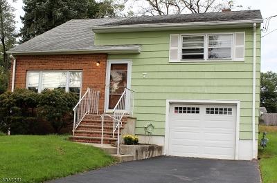 Fanwood Boro Single Family Home For Sale: 7 Tillotson Rd