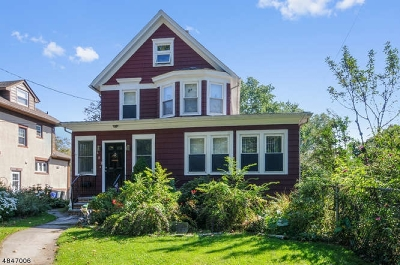Cranford Twp. Single Family Home For Sale: 602 E Lincoln Ave