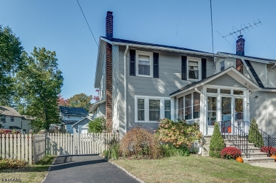 Maplewood Twp. Single Family Home For Sale: 7 Orchard Rd