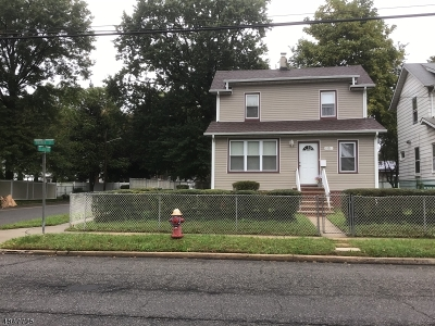 Roselle Boro Single Family Home For Sale: 1001 Warren Street