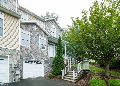 Parsippany-Troy Hills Twp. Condo/Townhouse For Sale: 34 Autumn Ridge Rd