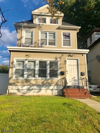 Roselle Park Boro Multi Family Home For Sale: 263 E Westfield Ave