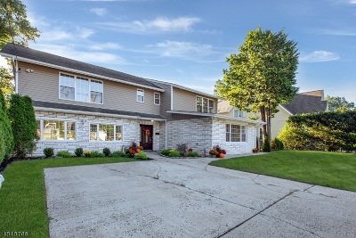Nutley Twp. Single Family Home For Sale: 20 Overlook Ter