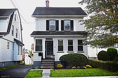 Maplewood Twp. Single Family Home For Sale: 193 Hilton Ave