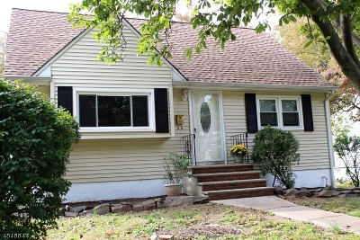 Scotch Plains Twp. Single Family Home For Sale: 586 Westfield Rd