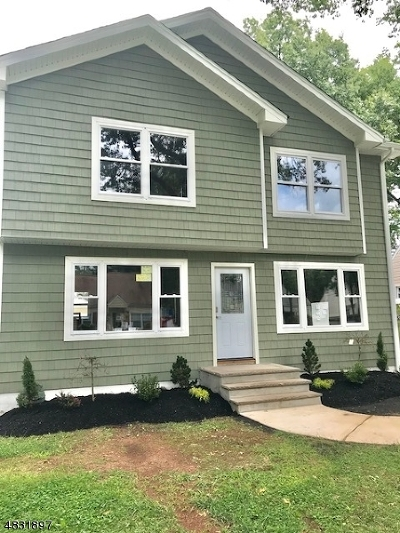 Rahway City Single Family Home For Sale: 227 Tehama St