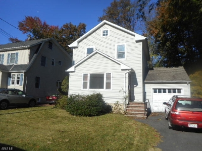 Cranford Twp. Single Family Home For Sale: 37 Wade Ave