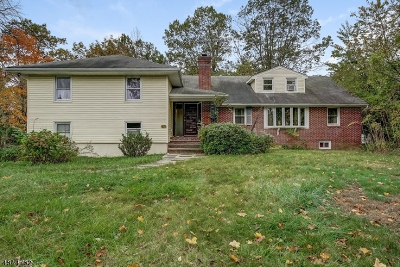West Orange Twp. Single Family Home For Sale: 40 Old Indian Rd