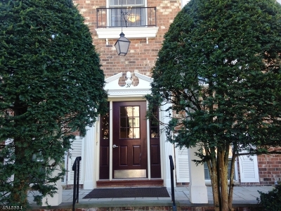 Morristown Town NJ Condo/Townhouse For Sale: $180,000