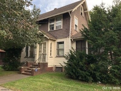 RAHWAY Single Family Home For Sale: 939 Bryant St