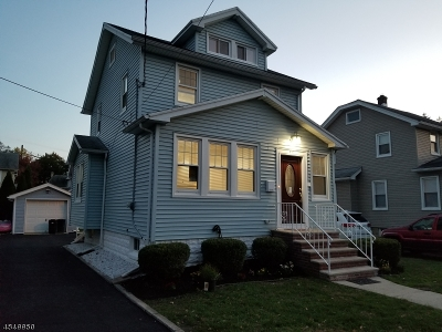 Roselle Boro Single Family Home For Sale: 117 Crane St