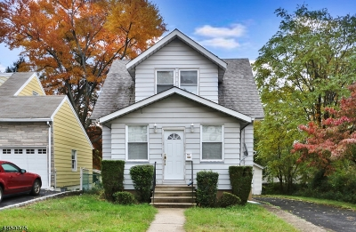 Union Twp. Single Family Home For Sale: 295 Revere Ave