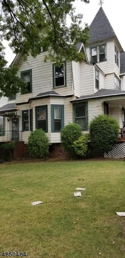 Passaic City Single Family Home For Sale: 43 Passaic Ave