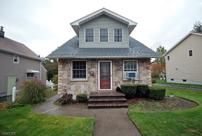 Nutley Twp. Single Family Home For Sale: 162 Ohlson Ave