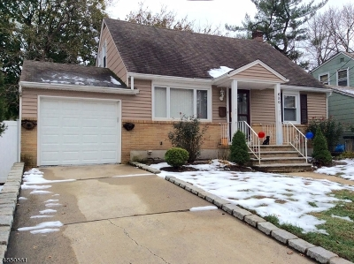 Roselle Boro Single Family Home For Sale: 630 E 2nd Ave
