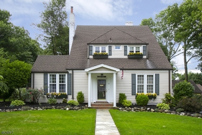 West Orange Twp. Single Family Home For Sale: 42 Fairview Ave