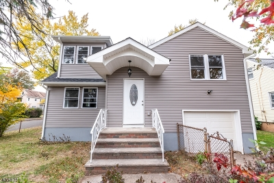 Linden City Single Family Home For Sale: 1301 Passaic Ave