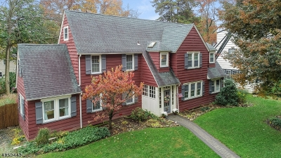 South Orange Village Twp. Single Family Home Active Under Contract: 364 S Ridgewood Rd