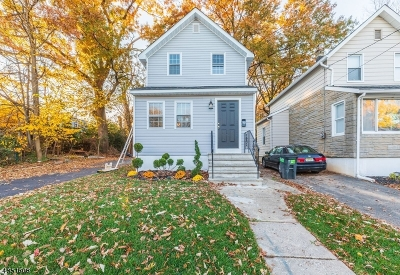 ROSELLE Single Family Home For Sale: 814 Spruce St