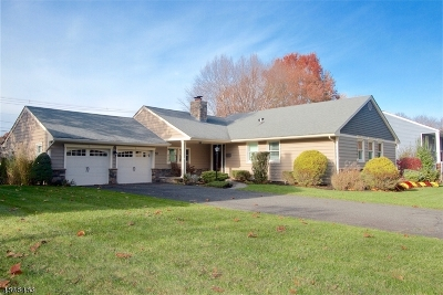 WESTFIELD Single Family Home For Sale: 57 Nomahegan Dr