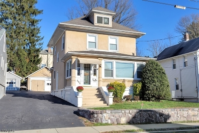 Boonton Town Single Family Home For Sale: 413 Hill St