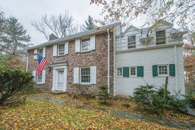 Millburn Twp. Single Family Home For Sale: 72 West Rd