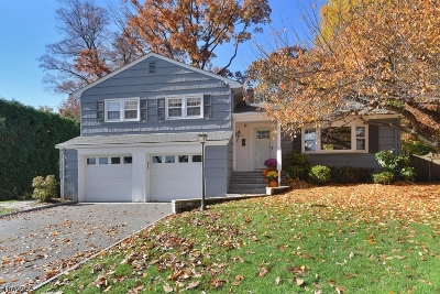 Montclair Twp. Single Family Home For Sale: 112 Squire Hill Rd