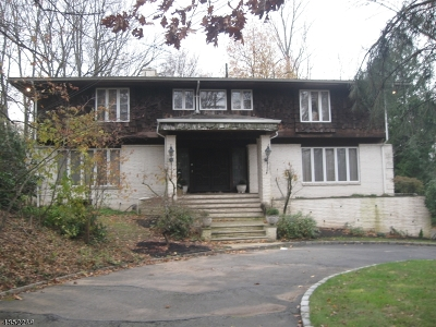Millburn Twp. Single Family Home For Sale: 218 Parsonage Hill Rd