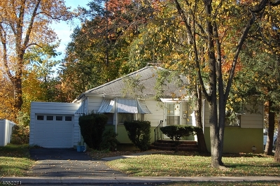 Scotch Plains Twp. Single Family Home For Sale: 1713 Front St