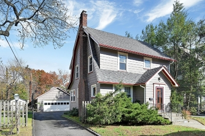 Montclair Twp. Single Family Home For Sale: 9 Mountain Pl