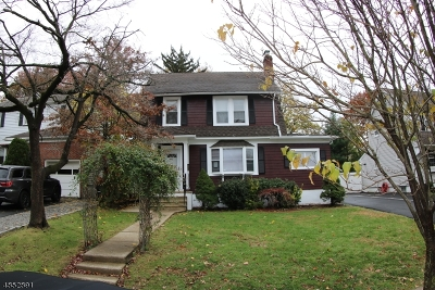 Nutley Twp. Single Family Home For Sale: 40 Terrace Ave