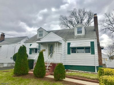 LINDEN Single Family Home For Sale: 312 3rd Ave