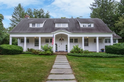 Morris Twp. Single Family Home For Sale: 9 Barberry Rd